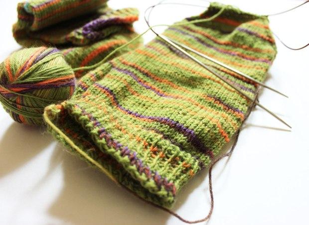 Sock: Wooly Mastadon
